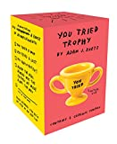 You Tried Trophy: (Ceramic Prize Cup for Trying, Funny and Snarky Award to Acknowledge Work and Effort)