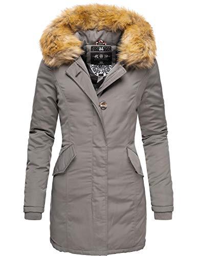 Marikoo Karmaa Cappotto Invernale da Donna XS-5XL Grigio L