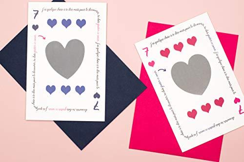 Annonce grossesse - annonce naissance : Duo de cartes à gratter Tu vas être Papy et Tu vas être...