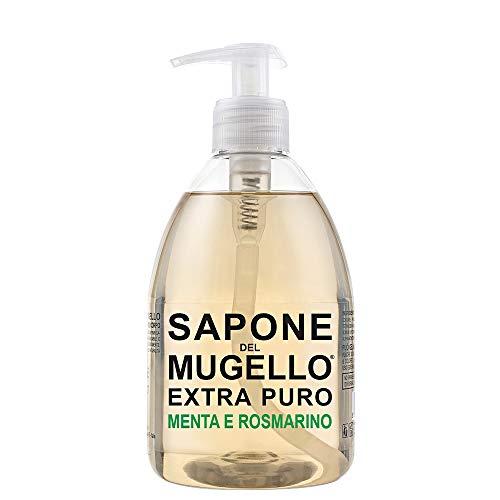 Sapone Extra Puro Menta e Rosmarino SAPONE DEL MUGELLO Sapone Unisex 500 ml Dispenser