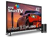 Televisor NPG LED 43' Full HD Smart TV Android 9.0 + Smart Control   Quad Core WiFi PVR