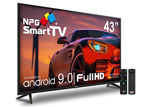 "Televisor Televisor NPG LED 43"" Full HD Smart TV Android 9.0 + Smart Control 