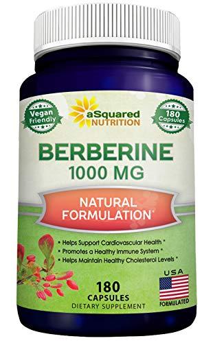 Pure Berberine 1000mg Supplement - …