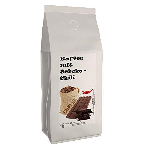 C&T Aromakaffee - Aromatisierter Kaffee Gemahlen - Schoko-Chili 200 g - Privatrösterei Spitzenkaffee Flavoured Coffee