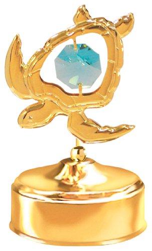 Image of Golden Sea Turtle Music Box