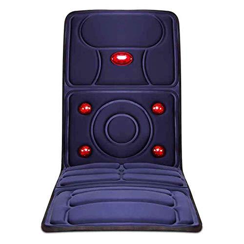 E-KIA MassagegeräT Elektrisch Massagematte,Elektrisches Multifunktions-RüCkenmassagegeräT, Home-Massage-Pad, Kann Auf Dem Auto Verwendet Werden