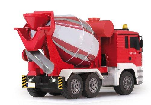 RC Baufahrzeug kaufen Baufahrzeug Bild 1: BUSDUGA RC MAN Betonmischer 27MHz ferngesteuert & drehende Mischtrommel mit Entladefunktion - Motorsound, Hupe, Licht INKL. BATTERIEN - komplett Set*
