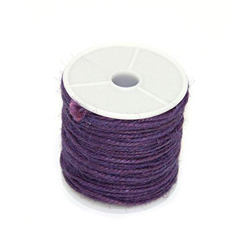 ROSENICE Cuerda de Yute Cáñamo Cadena de Embalaje Cuerda Hilo para A