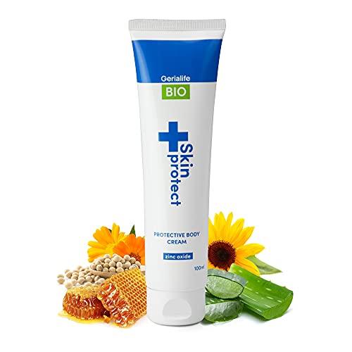 Gerialife - Crema antiescaras | Ingredientes naturales con Óxido de Zinc | Alivia, hidrata y protege | Para personas mayores (1ud, 100ml)