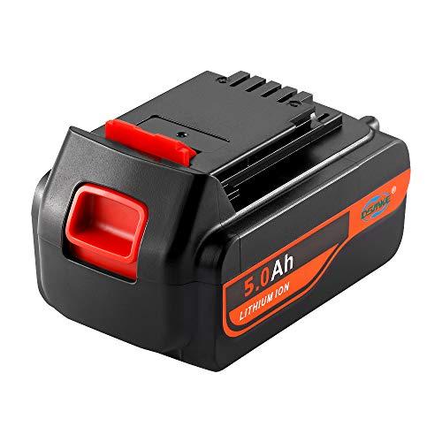 【Upgrade】 DSANKE LBXR20 5.0Ah 20V MAX Replacement Battery for Black and Decker 20V Lithium Battery LBXR20 LBXR20-OPE LB20 LBX20 LBX4020 LB2X4020-OPE