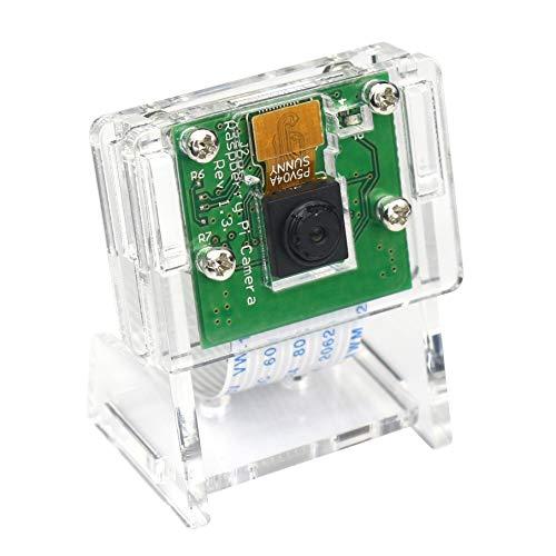 Jun-Saxifragelec 5MP 1080P Video Kamera modul für Raspberry Pi 3 B +, Pi Zero W Kamera mit gehäuse und Flexkabel