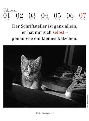 2021 literarischer Katzenkalender