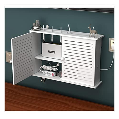 PPGE Home Caja Router WiFi para Pared Estante de Almacenamiento de Router...
