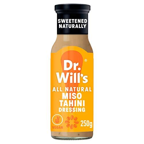 Dr Wills Miso Tahini Dressing & Dip Sauce, 250 g