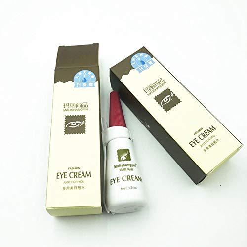 Kybbe Colle Hypoallergénique Clair-blanc Étanche Yeux Faux Cils Extension Maquillage Forte Adhésif Cosmétique Outils