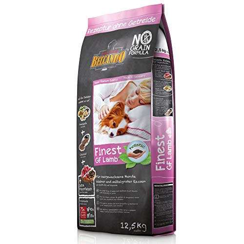 Belcando Finest GF Lamb [12,5 kg] getreidefreies Hundefutter | Trockenfutter für kleine & mittlere Hunde | Alleinfuttermittel für Hunde ab 1 Jahr