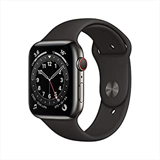 AppleWatch Series 6 (GPS + Cellular, 44mm) - Graphite Stainless Steel Case with Black Sport Band (B08J95WNPX) | Amazon price tracker / tracking, Amazon price history charts, Amazon price watches, Amazon price drop alerts