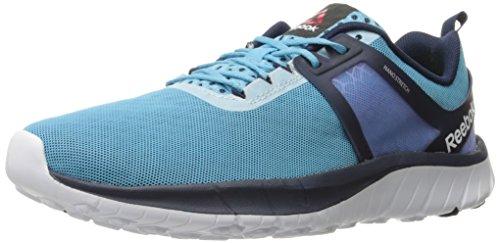 Reebok Z Belle Zapatillas de correr para mujer, Azul (blanco, azul marino, azul, lila (Crisp Blue/Collegiate Navy/White/Lilac Metallic)), 42 EU