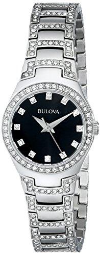 Bulova Women's 96L170 Crystal Bracelet Watch