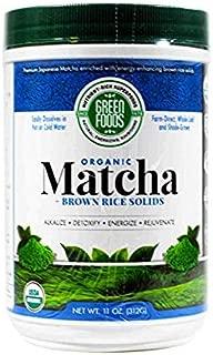 Green Foods Organic Matcha Tea