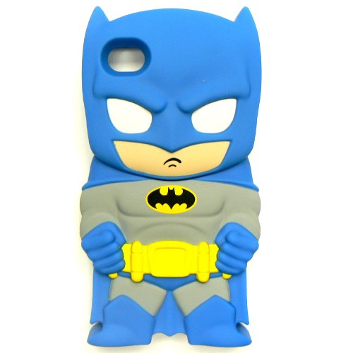 DC Comics Chara-Cover Series 1 Batman Phone Case for Apple iPhone 4/4S