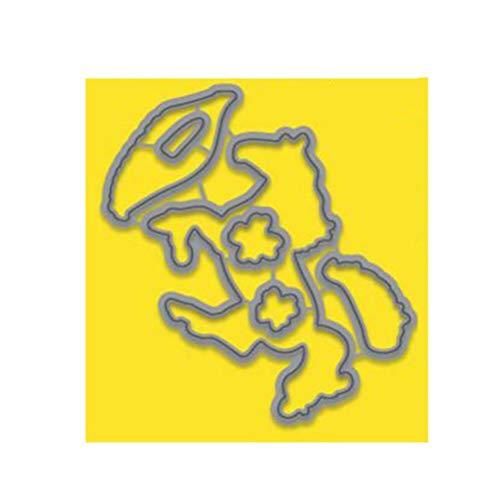 Magic Die Stempel Set Duidelijke Postzegels en Sterfjes voor Scrapbooking Card Maken Stencil Metalen Craft Snijden Dies met Postzegels