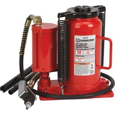 Strongway 20-Ton Air/Hydraulic Bottle Jack