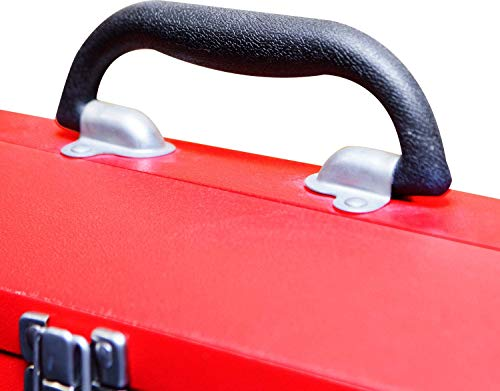 BIG RED Hip Roof Style toolbox for Carpenters
