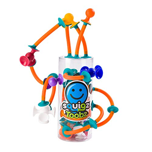 Lowest Price! Fat Brain Toys Squigz Toobz