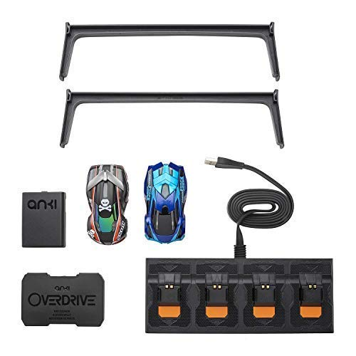 Anki Overdrive Kit with (2) Car & Charger, Key Finder- with International Plugs 220v/110 (No Tracks)