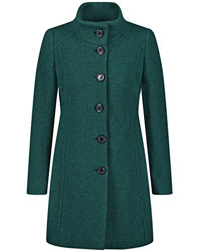 Taifun Damen 450067-11834 Jacke, Grün (Bottle Green Bicolor 5041), (Herstellergröße: 38)