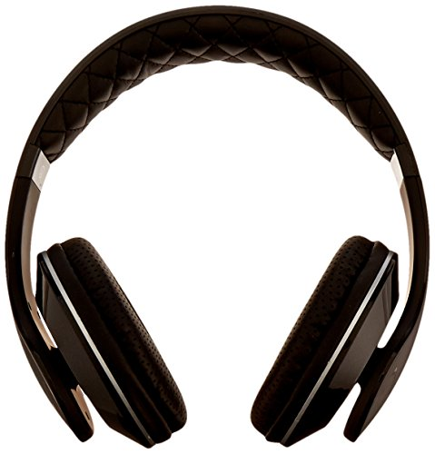 Nakamichi NK950 Series On-The Ear Headphones with Mic - Retail Packaging - Black
