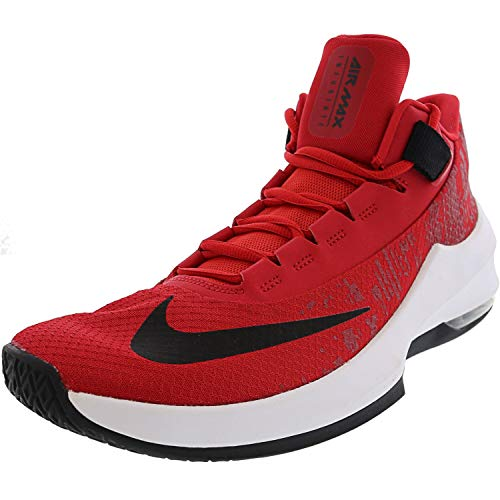 Nike Air MAX Infuriate 2 Mid, Zapatos de Baloncesto Hombre, Rojo (University Red/Black/White 600), 44 EU
