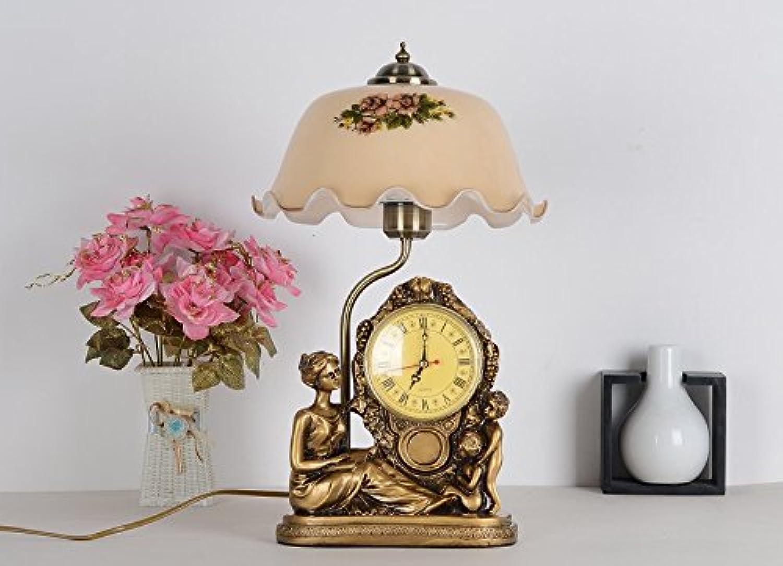 Mit Mit Mit Uhr lampe Schlafzimmer Lampen Retro Nachttischlampe Dimmen von Lampen, der Helligkeitsregler B06ZZ64SZT | Kaufen Sie online  1ba724