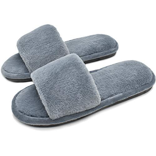 COFACE - Pantofole da Donna in Morbido Peluche, per Autunno/Inverno, 5 Colori
