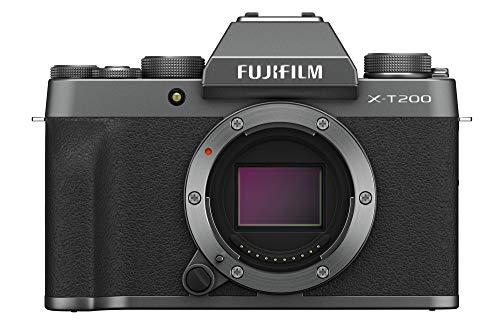 Fujifilm X-T200 Mirrorless Camera Body - Dark Silver
