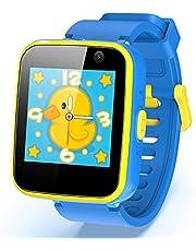 AGPTEK スマートウォッチ 子供用 多機能 腕時計 カメラ