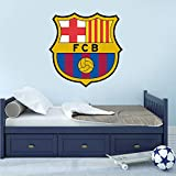 pegatinas decorativas pared Barca Fcb Logo Decal Art Decoración para el hogar Fútbol Barcelona...