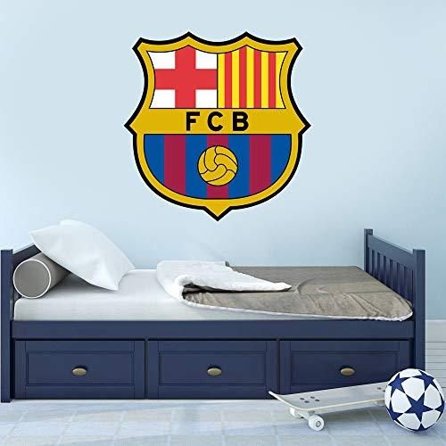 pegatinas decorativas pared Barca Fcb Logo Decal Art Decoración para el hogar Fútbol Barcelona sala de juegos sala de niños sala de niños