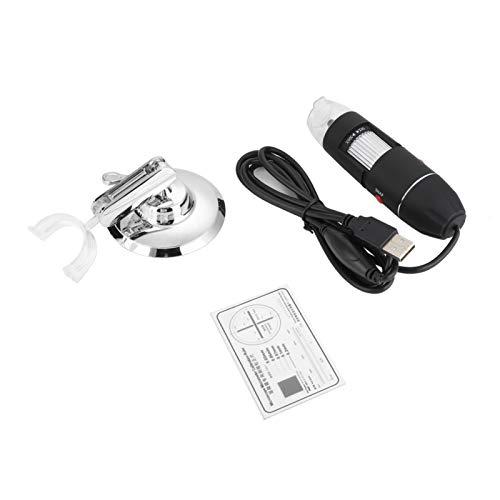 Microscopio, Microscopio Electrónico de Mano 500X USB Lupa para Industrial PCB Comprobación Ordenador Portátil