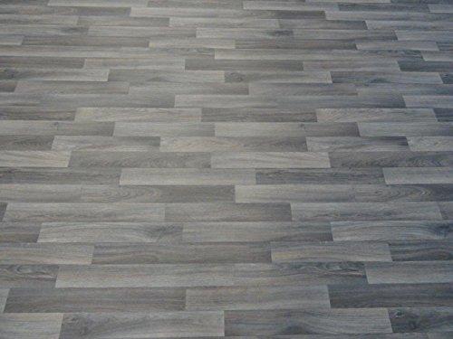 PVC in Holzplanken-Optik , dunkelgrau - von Alpha-Tex 9.95€/m² (Länge: 350 cm, Breite: 400cm)