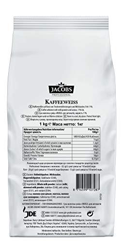 Jacobs Professional Kaffeeweiss Instant Kaffeeweisser, cremiger Milchschaum, 1000 g
