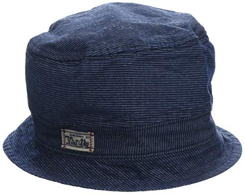maximo Baby-Jungen Hut, Jeans, Sonnenhut, Blau (Denim-Weiss-Streifen 56), 49