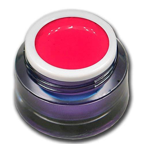 RM Beautynails Candy Pop Pink Neon Gel coloré de qualité supérieure, rose fluo, haute couvrance, 5 ml