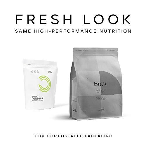 Bulk Pure Whey Protein Powder Shake, Vanilla, 1 kg, Packaging May Vary