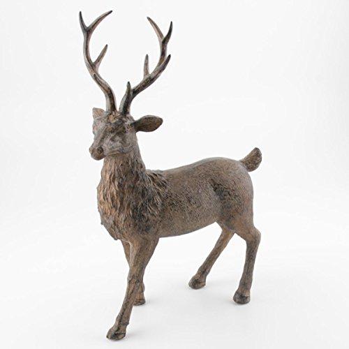 Kwoka hert staand bruin ca. 36 cm H | KW-259085-036-706 | 4049767374401.
