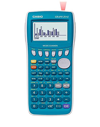 CASIO Calculatrice graphique Graph 25+ + Calculatrice de poche HL-820VER