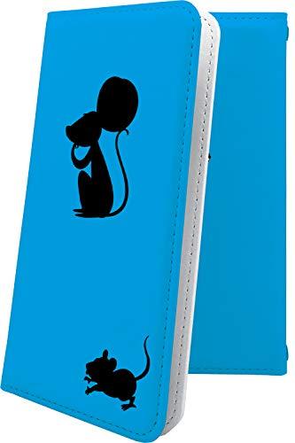 スマートフォンケース・ZenFone5Q ZC600KL・互換 ケース 手帳型 ねずみ 動物 動物柄 アニマル どうぶつ ゼンフォン5q ゼンフォン5 手帳型スマートフォンケース・ねこ 猫 猫柄 にゃー zenfone 5q 5 q キャラクター キャラ キャラケース [cmH58330yGK]