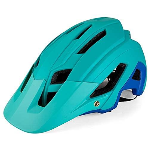Uymkjv Male and Female Adjustable Bicycle Helmet, Mountain Bike Helmet Outdoor Protective Equipment, Shockproof Buffer, Bicycle Helmet, Ride