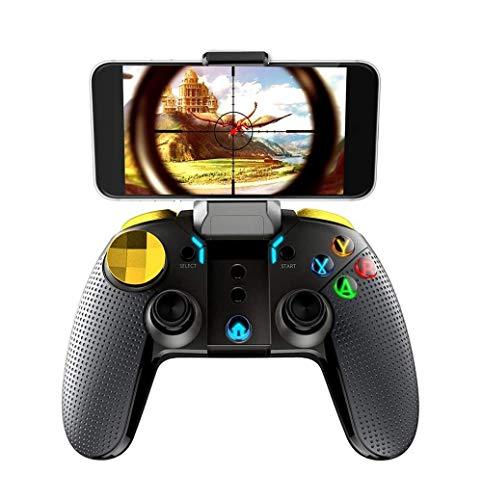 SMSOM Controlador de Juegos móviles, Bluetooth & 4.0G Gamepad inalámbrico, Joystick de Juego Adecuado para/Android/iOS, para la mayoría de los Juegos Populares Garces Gaming